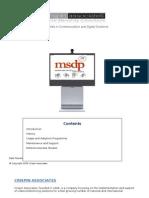 Msdp Introduction 271109 v2