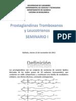 Prostaglandinas y Leucotrienos