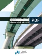 Convention collective Génie civil et voirie 2013-2017