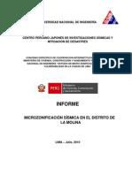 Informe 01 LaMolina MVC BID VF