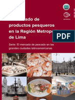 Mercado de Productos Pesqueros en Lima Metropolitana