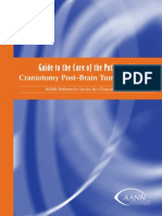 Guide to the Care of the Patient With Craniotomy Post Brain Tumor Resection