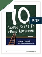 10 Steps to E-book