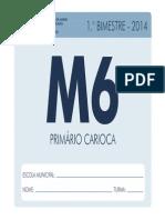 Mat6 1bim Aluno 2014