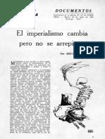 Eduardo Galeano - El imperialismo cambia pero no se arrepiente (1970)