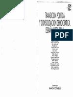 28573194 Linz J J Et Al Transicion Politica y Consolidacion Democratica en Espana 1975 1986 1992