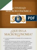 Actividad macroeconómica