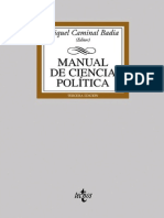 164247290 Miquel Caminal Manual de Ciencia Politica