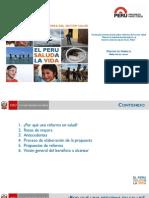 Lineamientos de La Reforma Del Sector Salud en El Peru