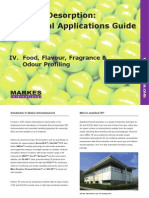 Thermal Desorption Apps for Foods