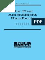 The First Ammendment Handbook