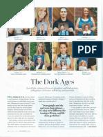 The Dork Ages - O Magazine, December 2013