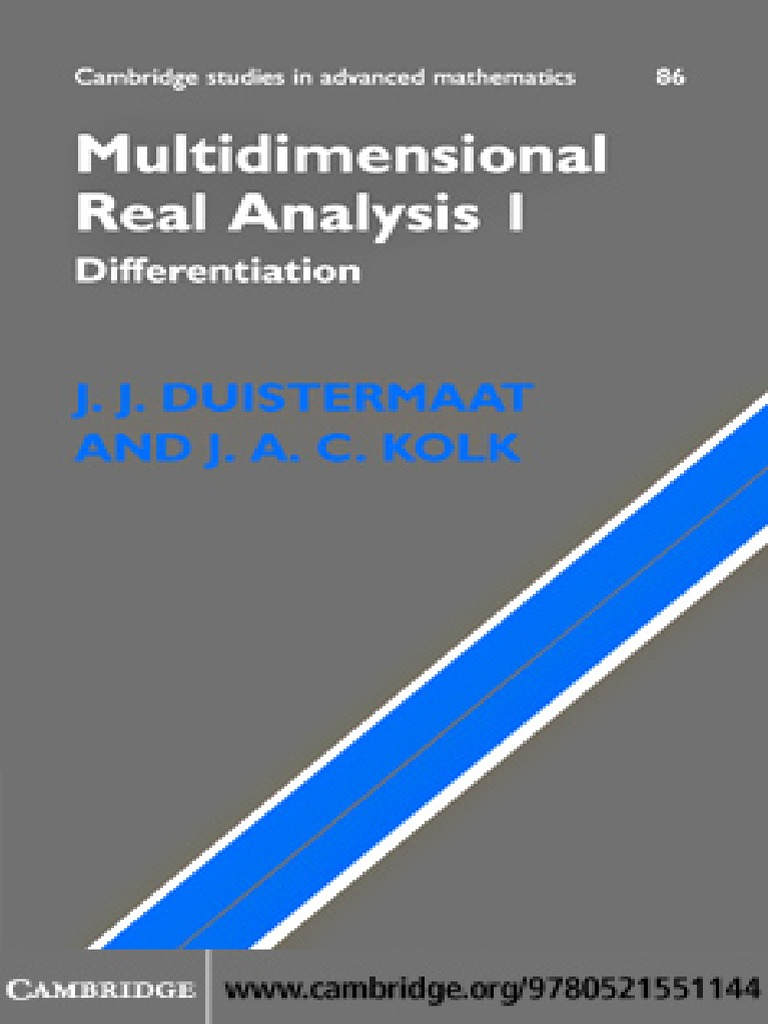 Multidimensional real analysis 1 differentiation vector space multidimensional real analysis 1 differentiation vector space continuous function fandeluxe Images