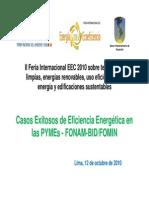 Proyecto FONAM BID Manuel Luna