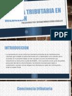 Cultura Tributaria en Medellin Trabajo