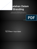 kesalahandalambranding-140428220259-phpapp01