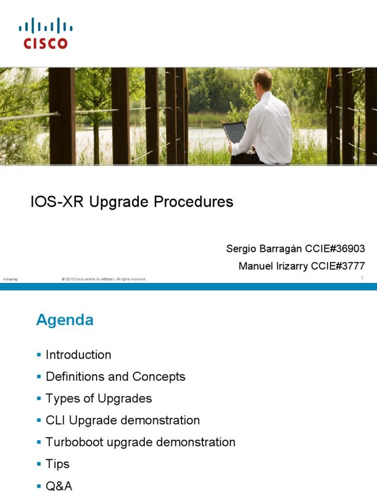 Asr9k Ios Xr Upgrade