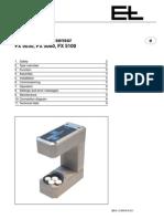 E&L fx5030 Manual