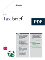 Tax Brief - April 2011