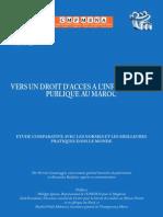 Droit Acces Information Maroc