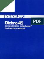 Beseler Dichro 45 Color Head
