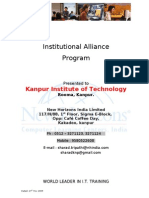 Institutional Alliance Program New Horizons
