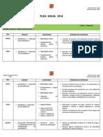 Plan Anual 2014.Educacion Fisica