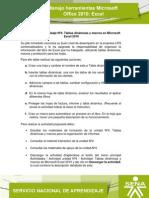 Actividad Unidad 4. Tablas Dinámicas y Macros de Microsoft Excel 2010