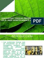 Sustancias Toxicas Presentes en El Maiz Gm
