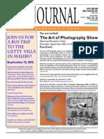 San Diego Art Institute Journal Sep/Oct 2012