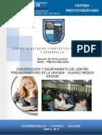 Contruccion y Equipamiento Del Centro Preuniversitario de La Unasam- Huaraz- Region Ancash