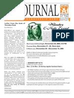 San Diego Art Institute Journal Nov/Dec 2009