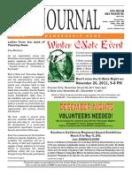 San Diego Art Institute Journal Nov/Dec 2011