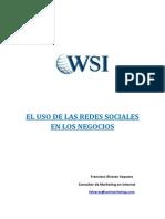 El Uso de La Redes Sociales en Los Negocios