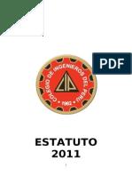 Estatuto del Colegio de Ingenieros del Peru