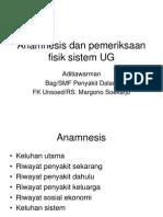 anamnesis UG2