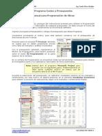 Manual Programacion de Obras