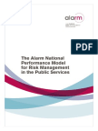 Alarm National Performance Model
