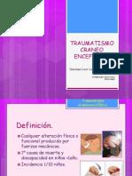 TRAUMATISMO CRANEO