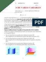 1funciones de Varias Variables -Teoria