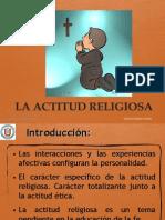 La Actitud Religiosa