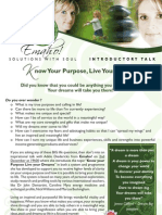 Emaho! Purpose Dreams Talk Invite 2 Dec 09