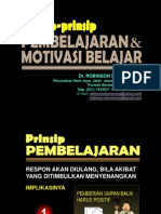 2.1. Prinsip-prinsip Pembelajaran Yg Efektif