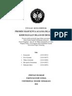Sejarah Kebudayaan Islam Indonesia