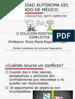 "Soluciã""n Positiva de Conflictos1"
