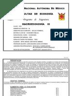Macro3 2011-2 Programa