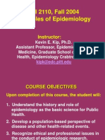 principles of epi