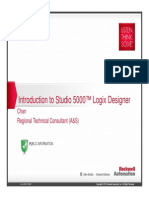 L01 - Introduction to Studio 5000 Logix Designer