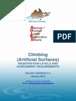 Climbing Artificial Registration Levels Jan2012