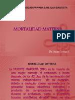 Mortalidad Materna 2014 I